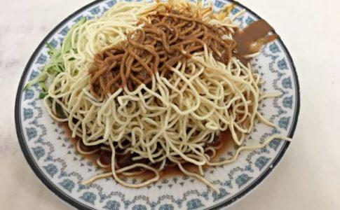 台北にある戴記福建涼麵の台湾冷やし中華