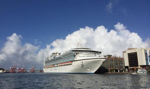 基隆港の風景