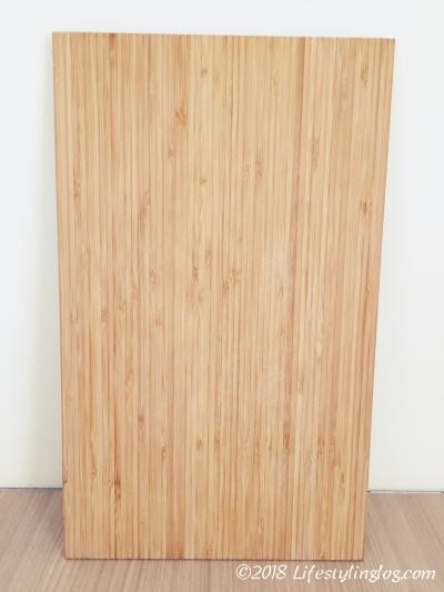 購入した当時のAPTITLIG(アプティートリグ)のまな板