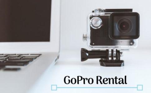 GoPro(ゴープロ)のレンタル