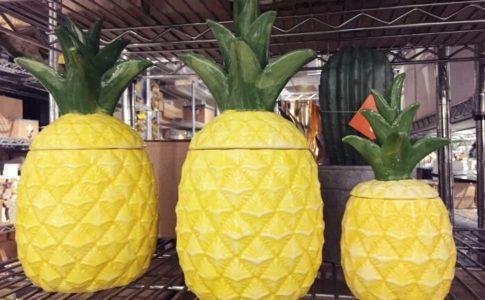 SSFで販売されているパイナップルの小物入れ