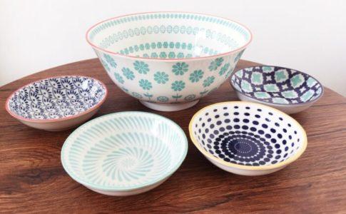 セントラルマーケットプレートの陶器