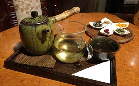 台北の迪化街にある茶藝館の南街得意(South Street Delight Tea House)