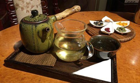 南街得意のお茶セット(文山包種茶)
