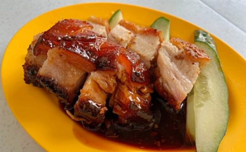 Restoran Char Siew Yoongのチャーシューとローストポーク
