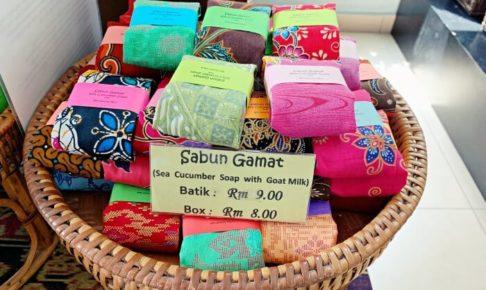 GAYA MINAMI(ガヤミナミ)のBatik付きなまこ石鹸