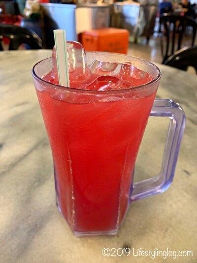 マレーシアのスイカジュース