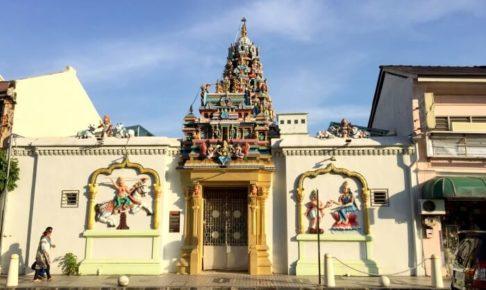 ペナンのハーモニーストリートにあるSri Maha Mariamman Temple
