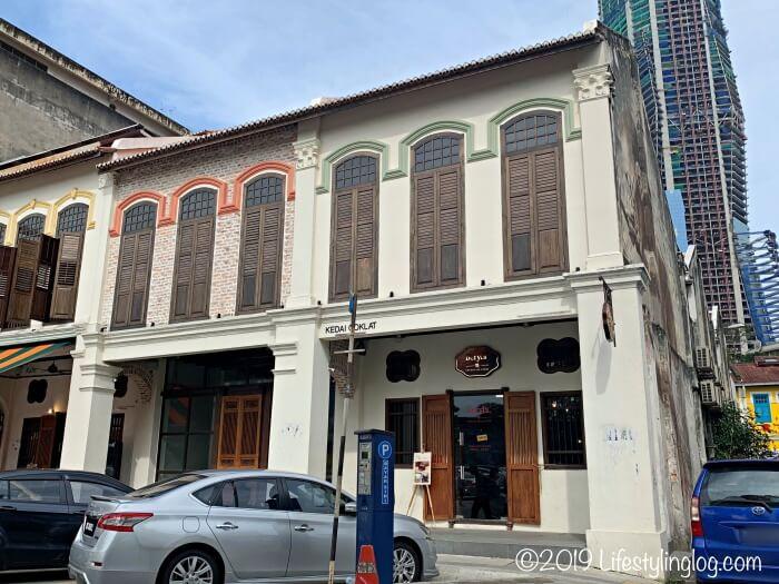 Jalan PanggongにあるBeryl's Lot18の入口