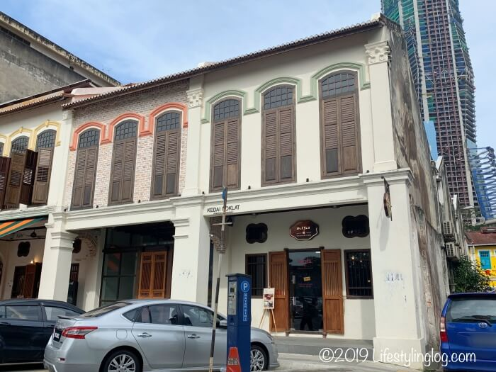 クアラルンプールのチャイナタウン(Jalan Panggong)にあるBeryl's LOT18