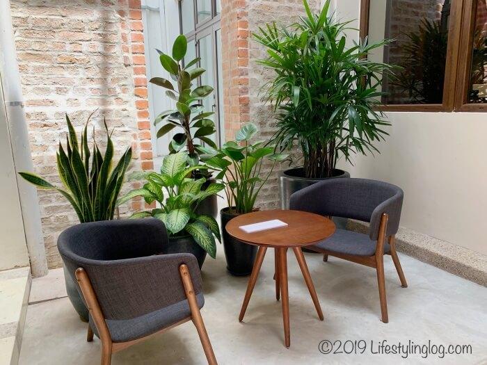 クアラルンプールのチャイナタウン(Jalan Panggong)にあるBeryl's LOT18のカフェスペース