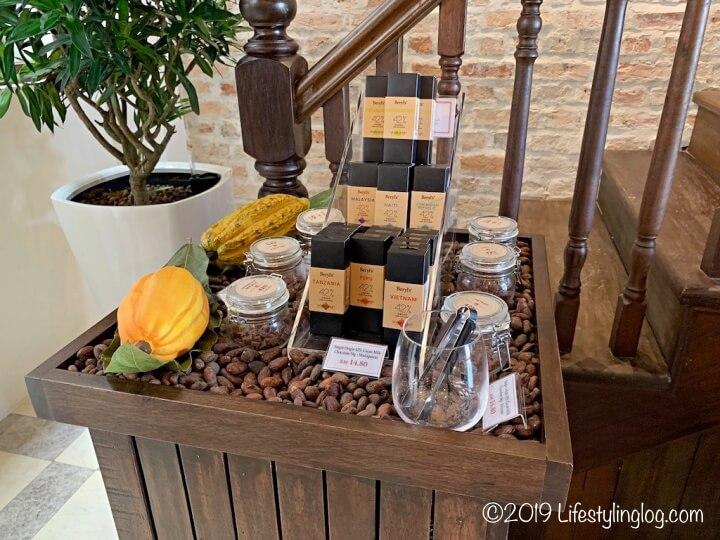 Beryl's(ベリーズ)のカカオ含有率42%のシングルオリジンチョコレート