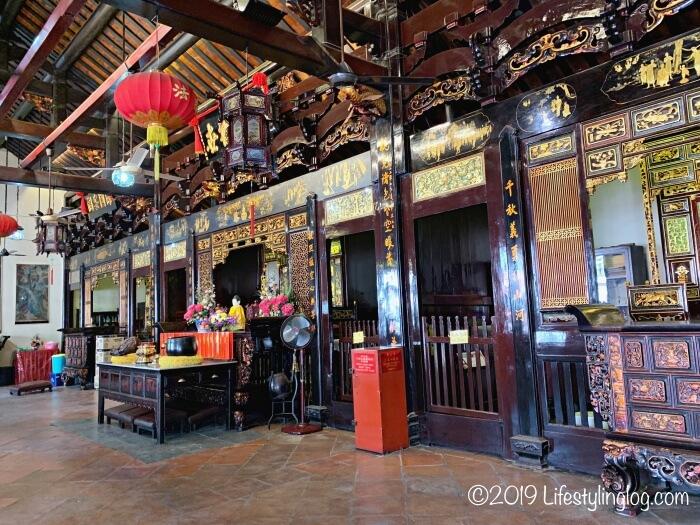 青雲亭(Cheng Hoon Teng)の内部