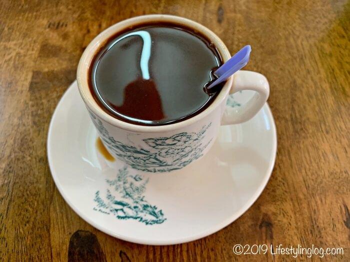 興發茶餐室(Heng Huat Coffee Shop)のKopi(コーヒー)
