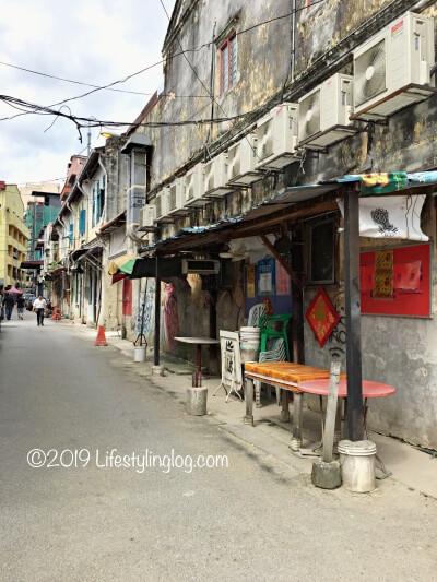 2018年当時の鬼仔巷(Kwai Chai Hong)の姿