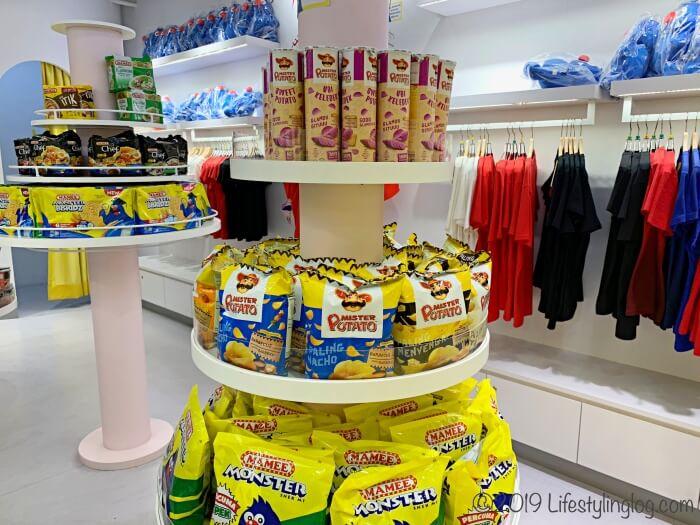 マラッカにあるMAMEE Jonker Houseの店内にある商品