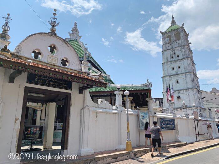 マラッカにあるカンポン・クリン・モスク(Masjid Kampung Kling)
