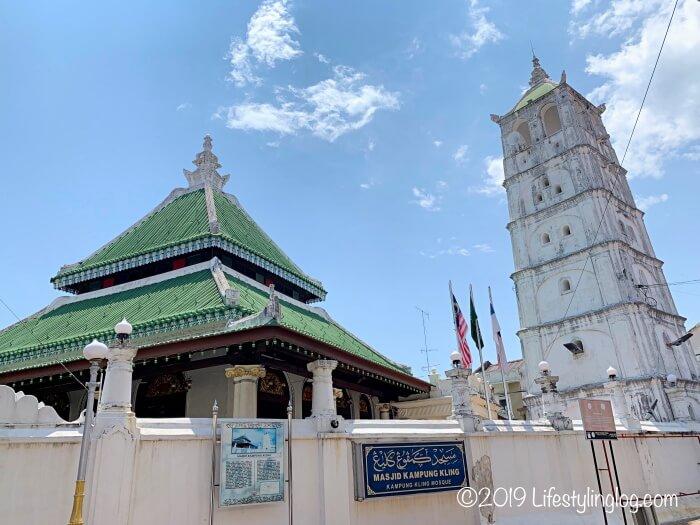 マラッカのカンポンクリンモスク