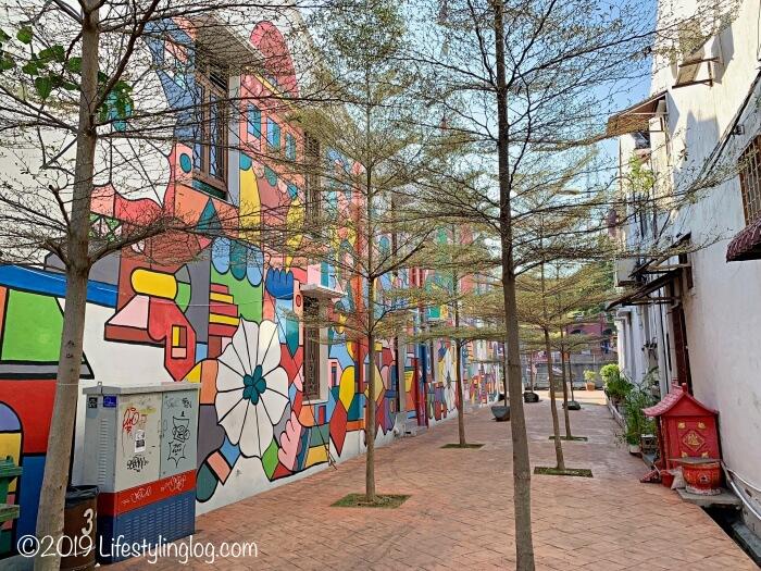 マラッカのストリートアート