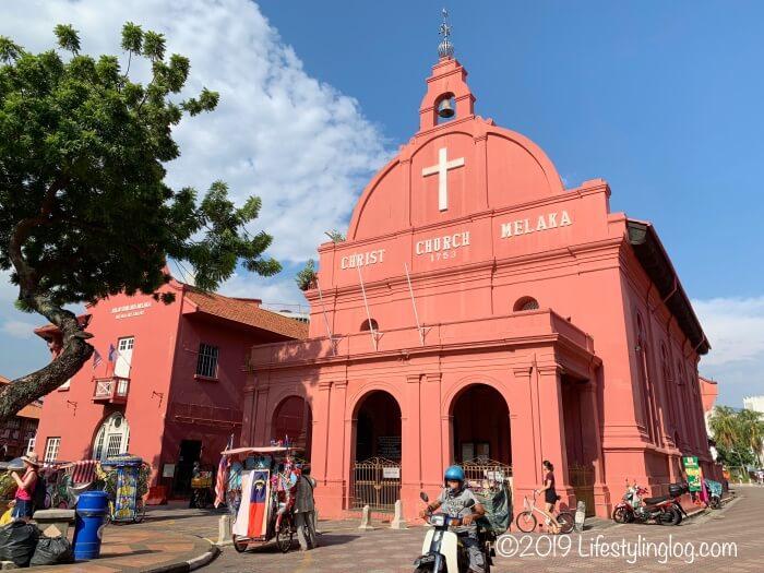 マラッカのキリスト教会(Christ Church Melaka))