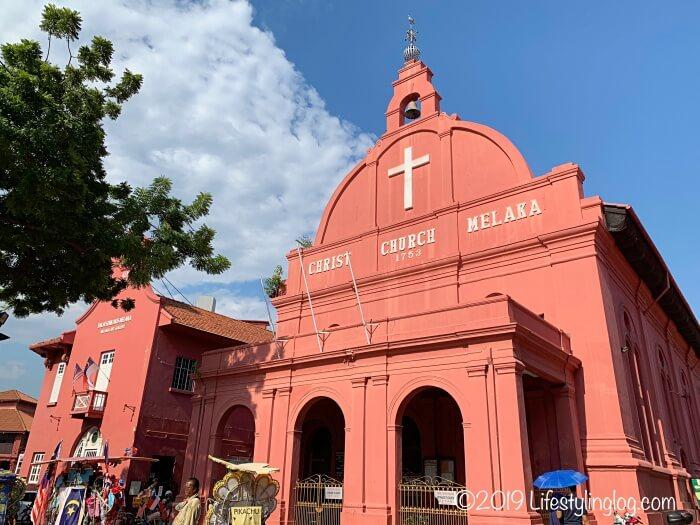 マラッカのキリスト教会