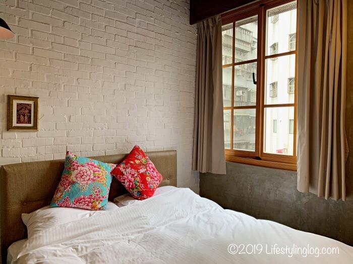 建山大旅社(ジェンシャンホテル)の客室