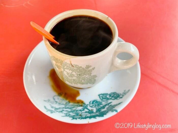 隆安茶室(Lung Ann Refreshments)のコーヒー