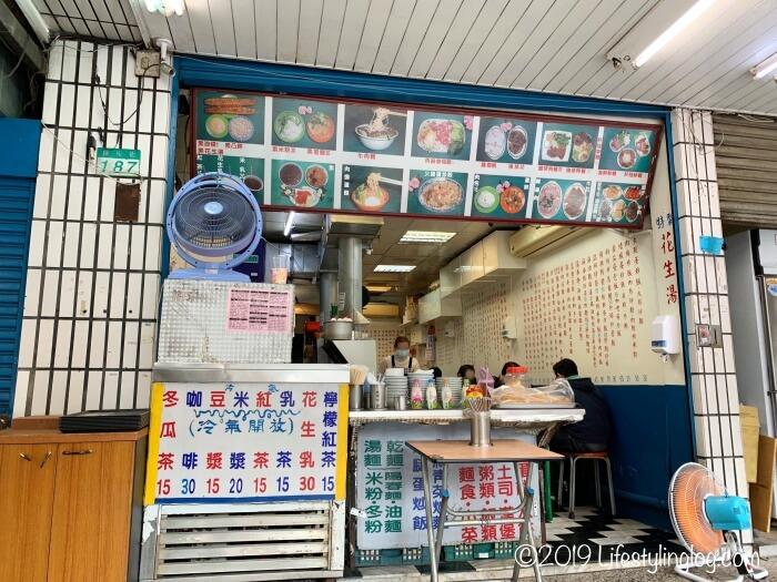 世界美食総匯の店内