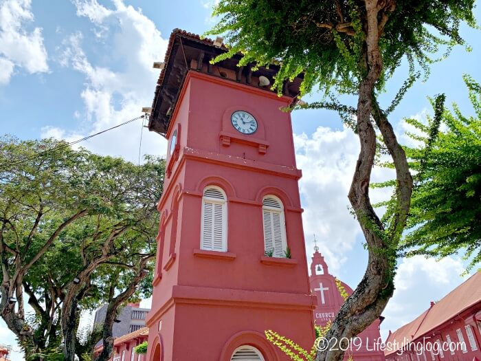 マラッカの時計台(Tang Beng Swee Clock Tower)