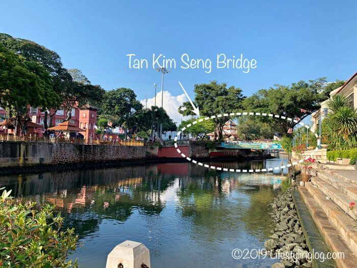 マラッカのTan Kim Seng Bridge