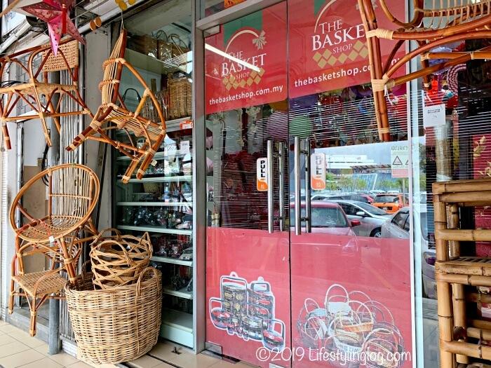 クアラルンプールのチャイナタウンにあるThe Basket Shop