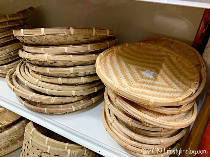 The Basket Shopで販売されているザル