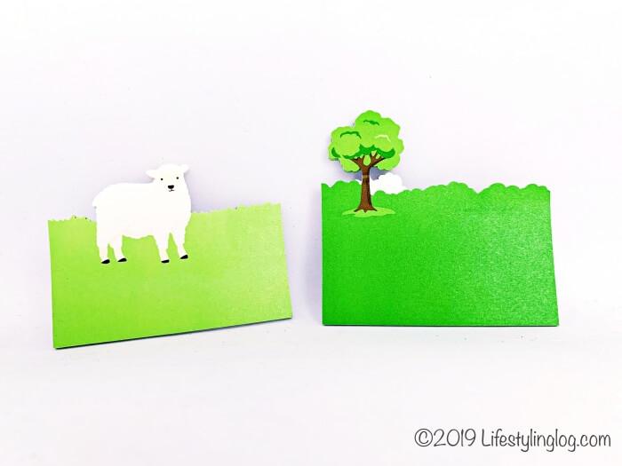 2デザインになっている知音文創のi-Markerの羊の付箋