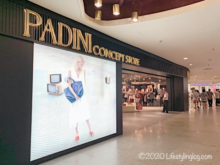 ミッドバレーメガモールにあるPADINI Concept Store(Vincci)