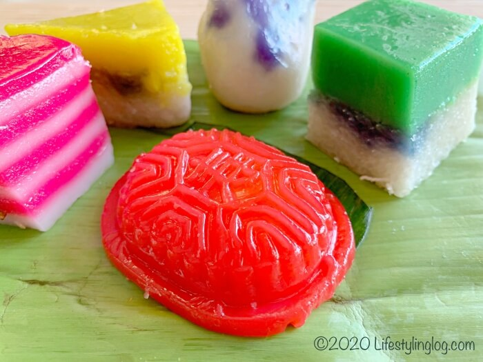 マレーシア伝統菓子のKuih(クエ)