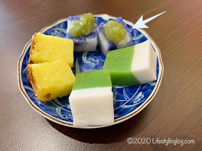パンダン入りのKayaが使われたPulut Tai Tai