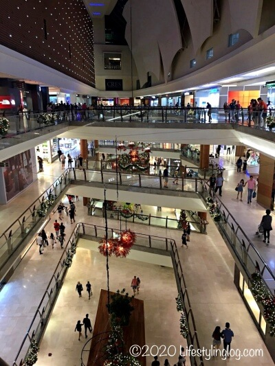The Gardens Mall(ザ・ガーデンズモール)の各階の様子