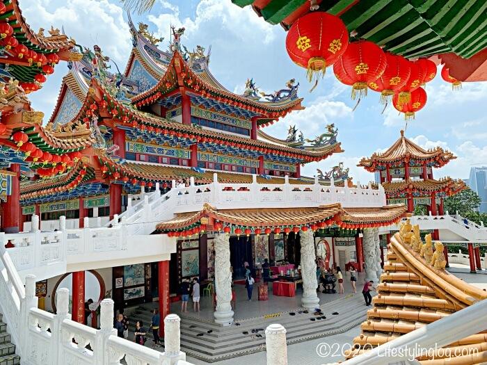 クアラルンプールにある天后宮(Thean Hou Temple)