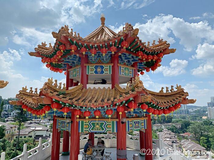 クアラルンプールの天后宮(Thean Hou Temple)にある建築物