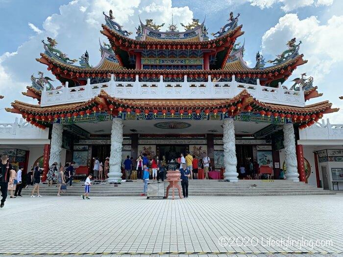 クアラルンプールの天后宮(Thean Hou Temple)の本殿