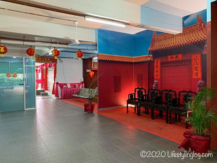 クアラルンプールの天后宮(Thean Hou Temple)にある婚姻登録するオフィス