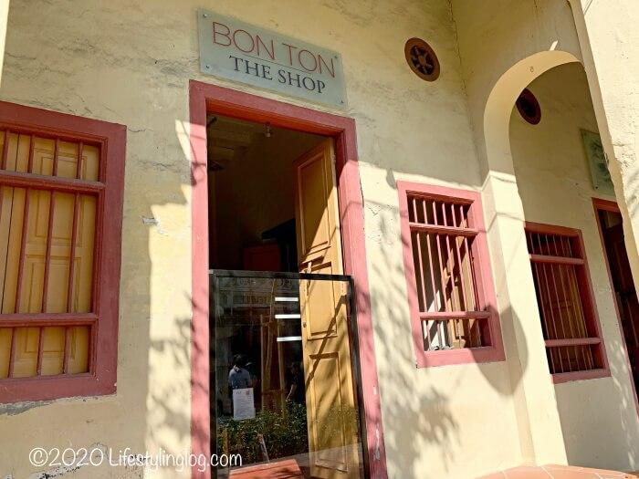 BON TON THE SHOP(ボントン ザ ショップ)の入口