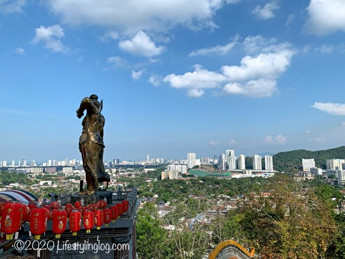 極楽寺(Kek Lok Si Temple)から見えるペナンの絶景