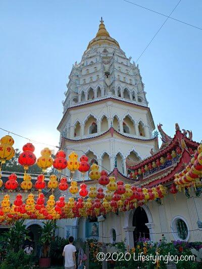 極楽寺(Kek Lok Si Temple)にある7層のパゴダ