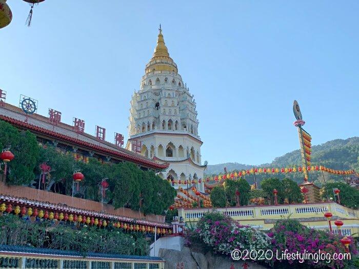 極楽寺(Kek Lok Si Temple)にあるパゴダ