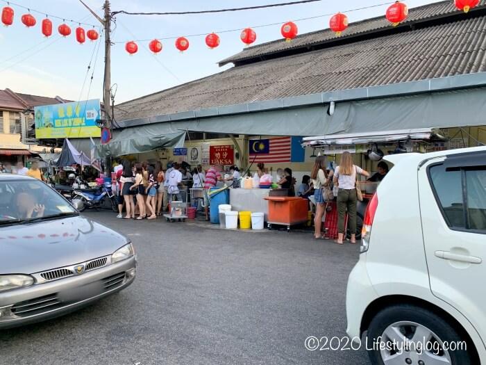 Penang Air Itam Laksaのお店