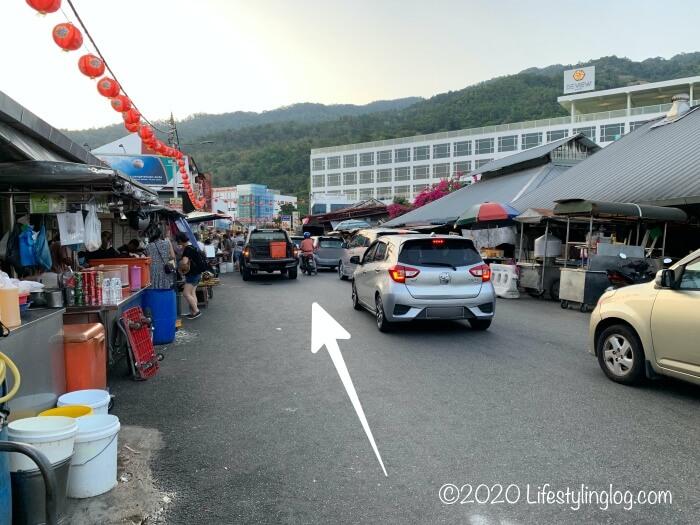 Jalan  Pasar