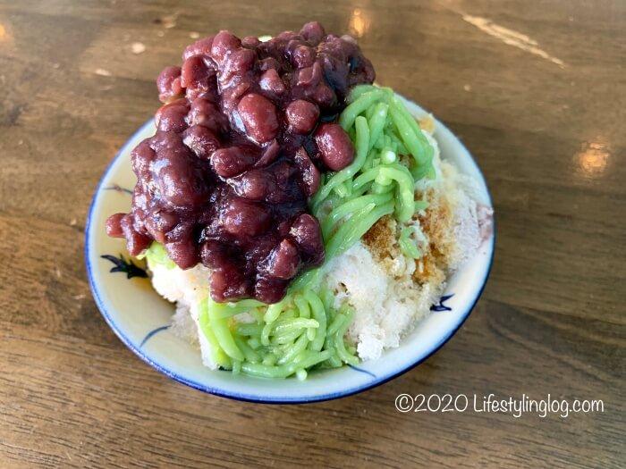 Kwong Wah Ice Kacang(光華)のチェンドル(Cendol)