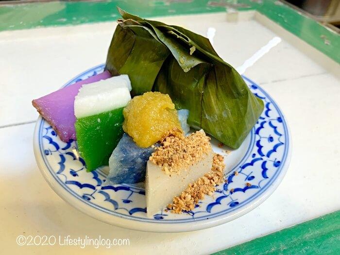ペナンのMoh Teng Pheow Nyonya Koay(莫定標娘惹粿廠)のニョニャクエ