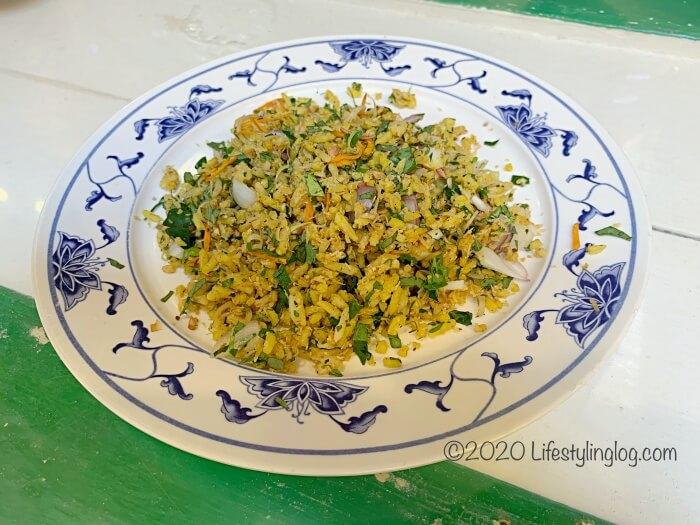Moh Teng Pheow Nyonya Koay(莫定標娘惹粿廠)のNasi Ulam